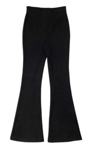 Lewin Ribbed Flared trousers