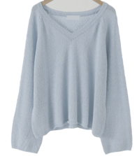 Paulen V-Neck Cotton Knitwear