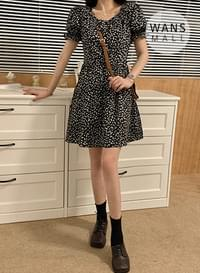 op4225 Ed Flower Mini Dress