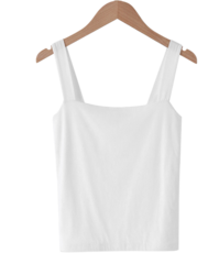 Cozy Square Neck Sleeveless
