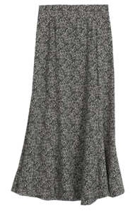Triple Maxi Long Skirt