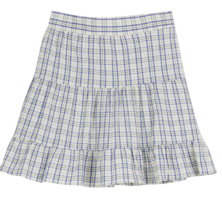 Loving Check Frill Short Skirt