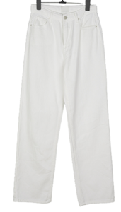 Shiki wide cotton long trousers