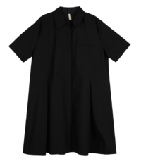 Saint shirt mid-length dress
