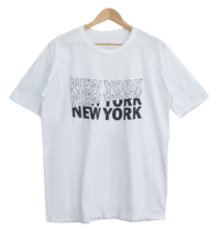 Loose-fit New York Lettering Short Sleeve Tee