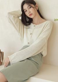 Daily Loose-fit two-way cardigan