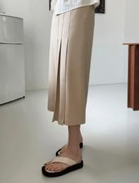 Rowan pleated long skirt