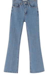 Ivy slim Flared denim pants
