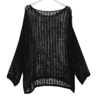 Loose-fit Diet Net Knitwear