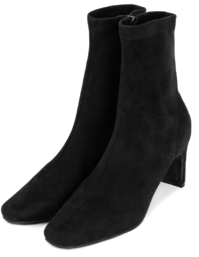 Muse suede high-heel ankle boots