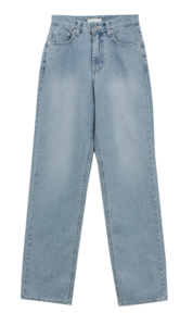 Maron straight denim
