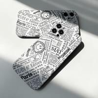 Edition Lettering Full Cover iPhone Case