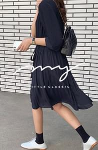 《Exclusive order/Same day delivery》My-littleclassic/ Petal Pleats Museum Dress