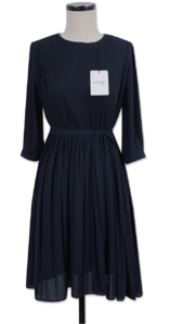 My-littleclassic/ Petal Pleats Museum Dress