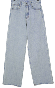 Rex straight-wide denim trousers