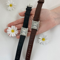 Classic Square Leather Watch A#YW304