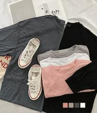 Linen Loose-fit T-shirt to wear when you don't want to burn