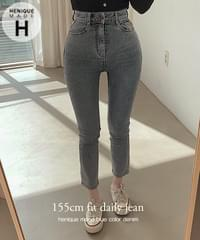 155cm where did you buy these pants from salt short girl high denim slim fit straight skinny pants