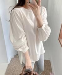 Sweet Summer Cotton Loose-fit Blouse - Pink Same Day Shipping