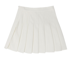 Carter pleated mini skirt
