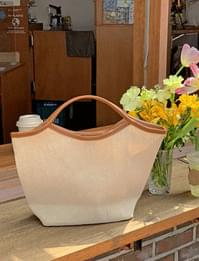 City Leather Combi Tote Bag