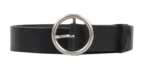 Two-Thousand-breaking Circle Leather Belt