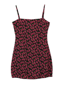 Flower Lander Mini Dress