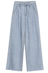 Remy pintuck wide jeans