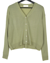 Evely Loose-fit V-Neck Cardigan