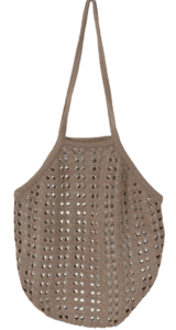 Punching Market Knitwear Shoulder Bag