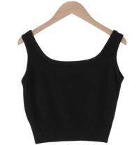 Cozy Crop Knitwear Sleeveless