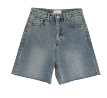 Work denim shorts