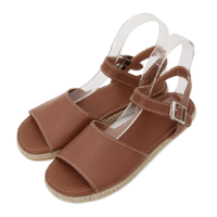 Biscuit buckle sandals