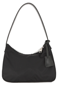 Tag Accent Shoulder Bag
