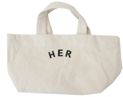 HER eco tote bag