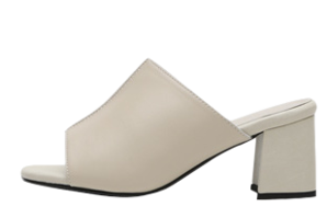 Decaline Genuine Leather Mule Slippers