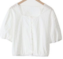 Annie punching banding blouse