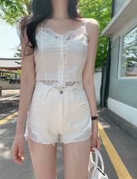 Rotini lace bustier t