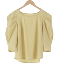 Angel Square Puff Blouse