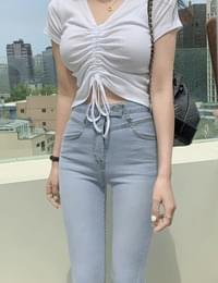 My two button denim Flared pants