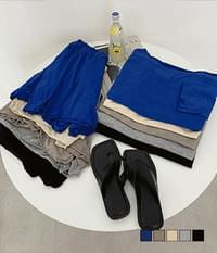 Yeori slab two-piece set with a slender look