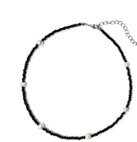 Water pearl bead necklace