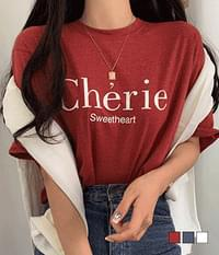 Chair Loose-fit Short Sleeve T-Shirt