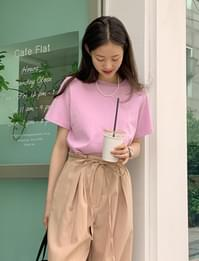 Sonia cropped short-sleeved T-shirt