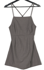 Cica Split Sleeveless Mini Dress