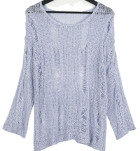 IFU Damage Net Knitwear