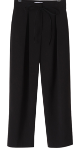 Brunch pintuck string pants