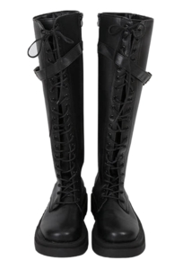 Buckle Delight Long Boots