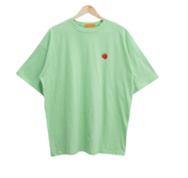 Fruit embroidered short-sleeved tee