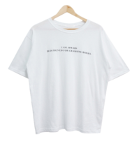 Bores Lettering Short Sleeve Tee
